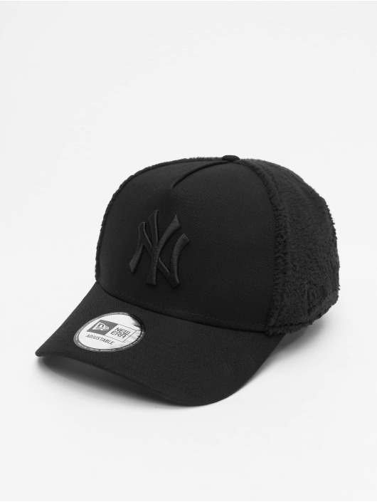 New Era Snapback Cap MLB NY Yankees Sherpa nero