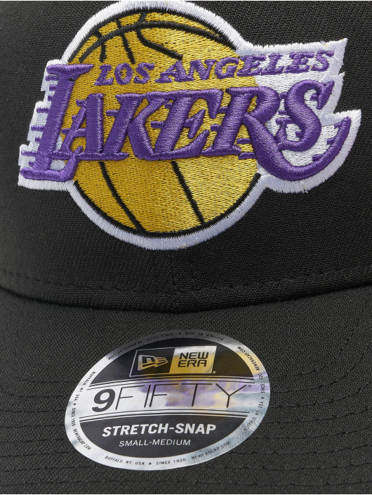 New Era Snapback Cap NBA LA Lakers Stretch 9fifty nero