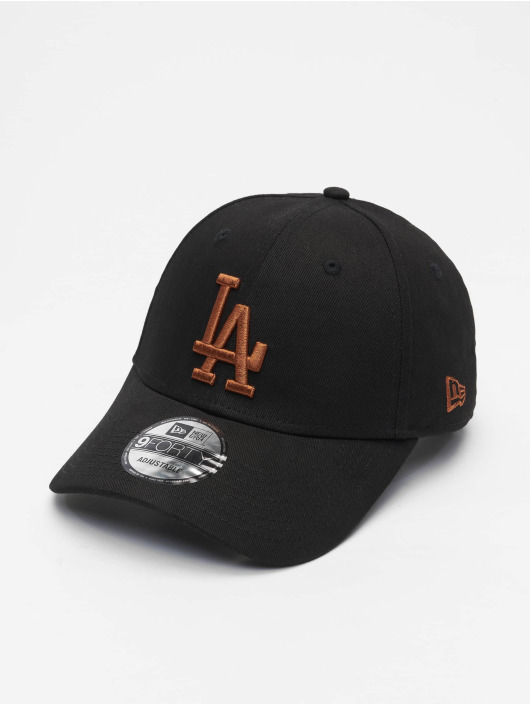 New Era Snapback Cap Mlb Properties Los Angeles Dodgers League Essential 9forty nero