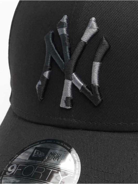 New Era Snapback Cap Mlb Properties New York Yankees Camo Infill 9forty nero