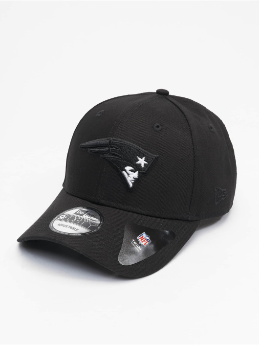 New Era Snapback Cap Nfl Properties New England Patriots Black Base 9forty nero