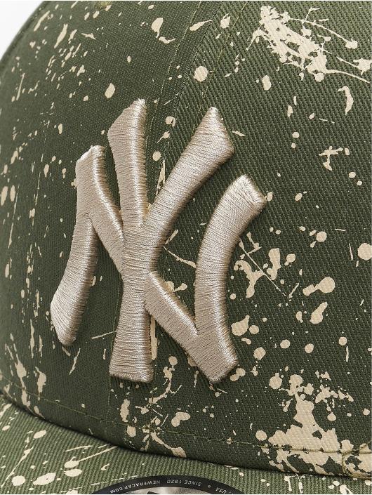 New Era snapback cap MLB NY Yankees Paint Pack Mens olijfgroen