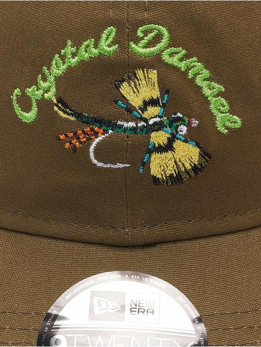 New Era Snapback Cap NE Fishing Tackle 9Twenty olive