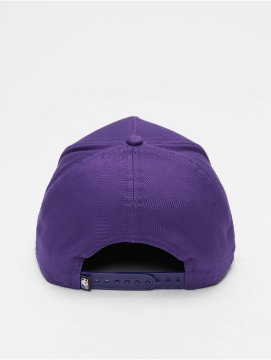 New Era Snapback Cap NBA Team Los Angeles Lakers 9 Fourty Aframe purple