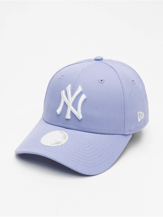 New Era Snapback Cap MLB NY Yankees League Essential 9Forty purple