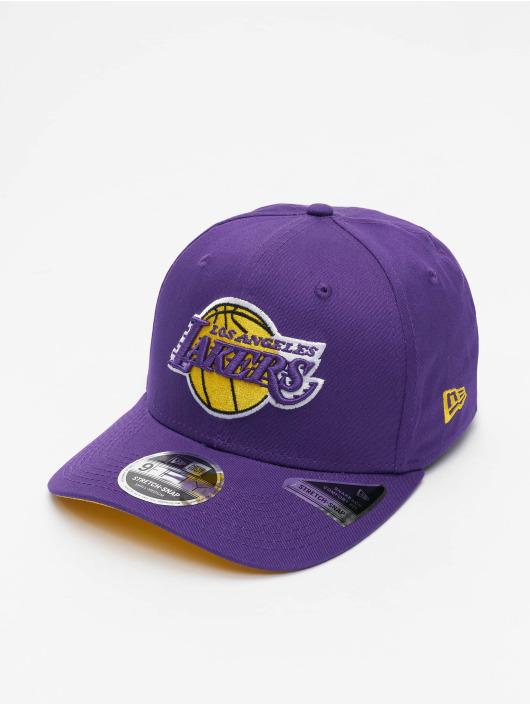 New Era Snapback Cap NBA Los Angeles Lakers Team Colour 9Fifty Stretch purple