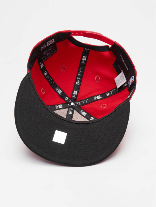 New Era Snapback Cap NBA Contrast Team Chicago Bulls 9 Fifty red