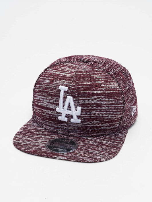 New Era Snapback Cap MLB Engineered Fit LA Dodgers 9Fifty red