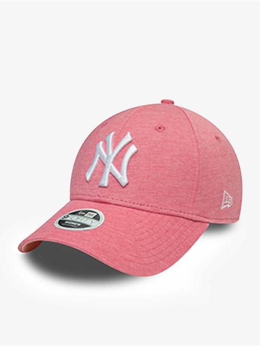 New Era Snapback Cap MLB New York Yankees Jersey 9Forty rosa chiaro