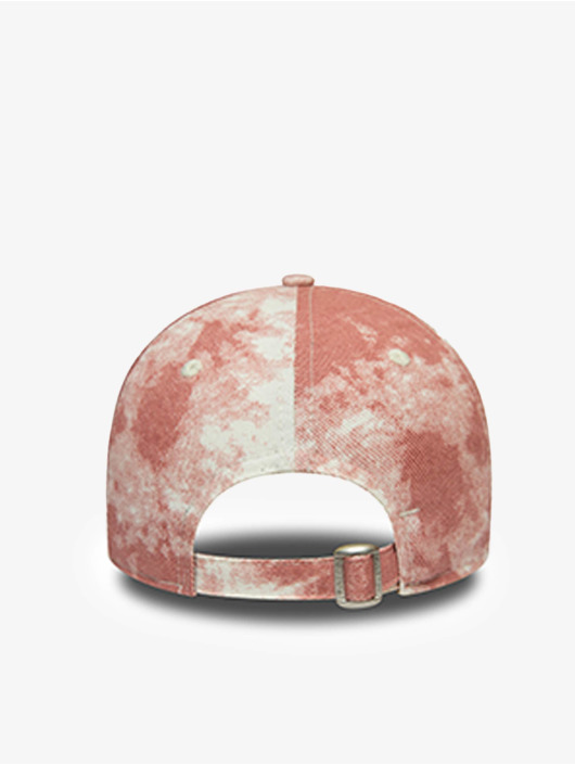 New Era Snapback Cap MLB Los Angeles Dodgers Denim Colour 9Forty rosso