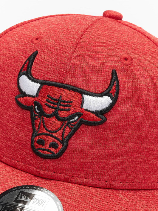 New Era Snapback Cap NBA Chicgo Bulls Team Shadow Tech 9Forty rot
