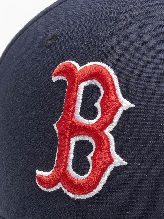 New Era Snapback Cap MLB Boston Red Sox Chambray League schwarz
