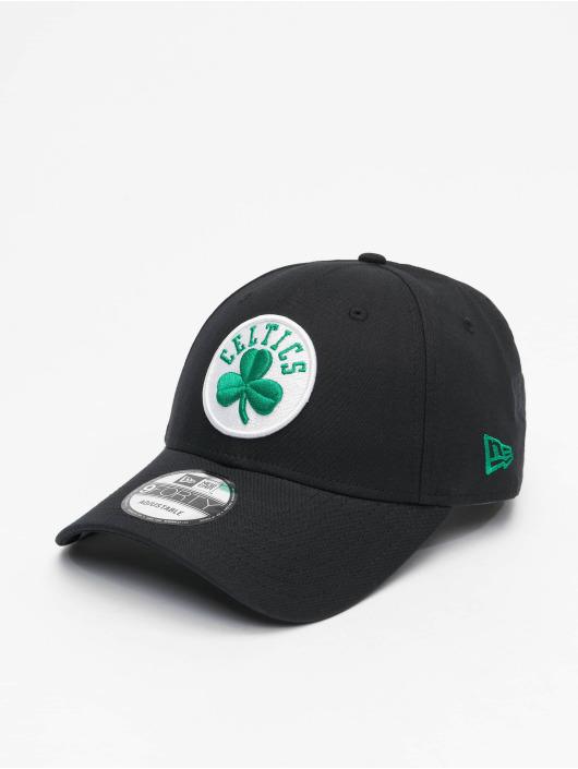 New Era Snapback Cap NBA Boston Celtics Chambray League schwarz