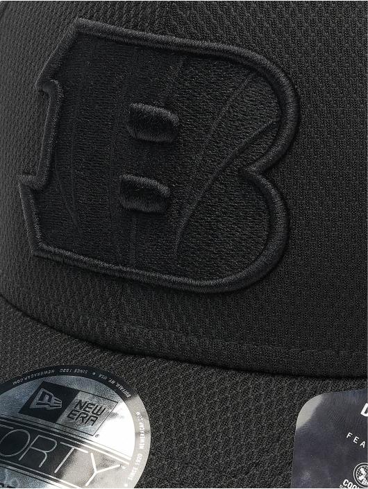 New Era Snapback Cap NFL Cincinnati Bengals Mono Team Colour 9Forty schwarz
