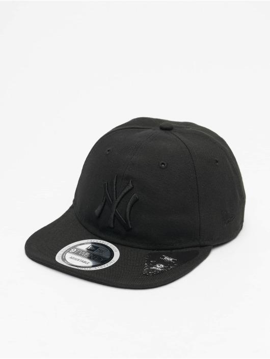 New Era Snapback Cap MLB NY Yankees Packable 9Twenty schwarz
