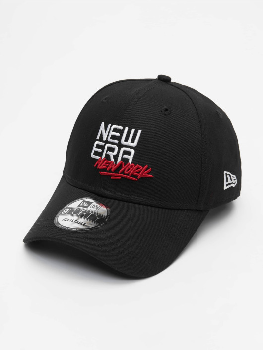 New Era Snapback Cap US 9Forty schwarz