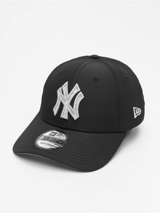 New Era Snapback Cap MLB NY Yankees 9Forty Hook schwarz
