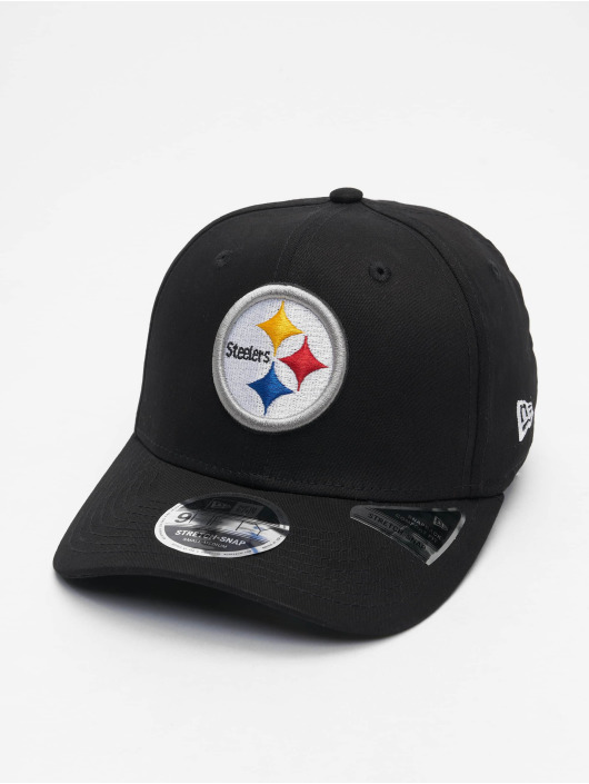 New Era Snapback Cap 9fifty Pittsburgh Steelers Strech schwarz