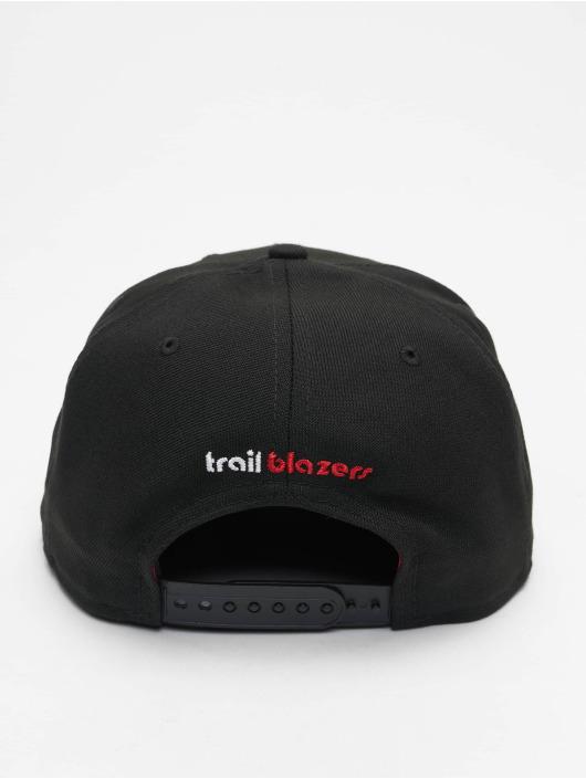 New Era Snapback Cap 9Fifty A8 001 Portland Trail Blazers schwarz