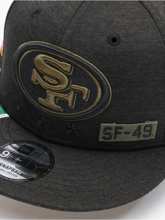 New Era Snapback Cap NFL 20 STS EM 9Fifty San Francisco 49ers schwarz