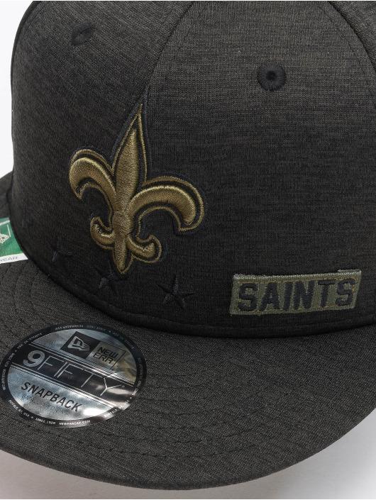 New Era Snapback Cap NFL 20 STS EM 9Fifty New Orleans Saints schwarz