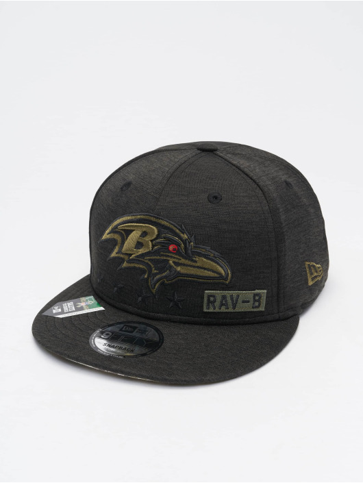 New Era Snapback Cap NFL 20 STS EM 9Fifty Baltimore Ravens schwarz