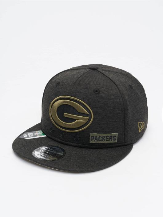 New Era Snapback Cap NFL 20 STS EM 9Fifty Green Bay Packers schwarz