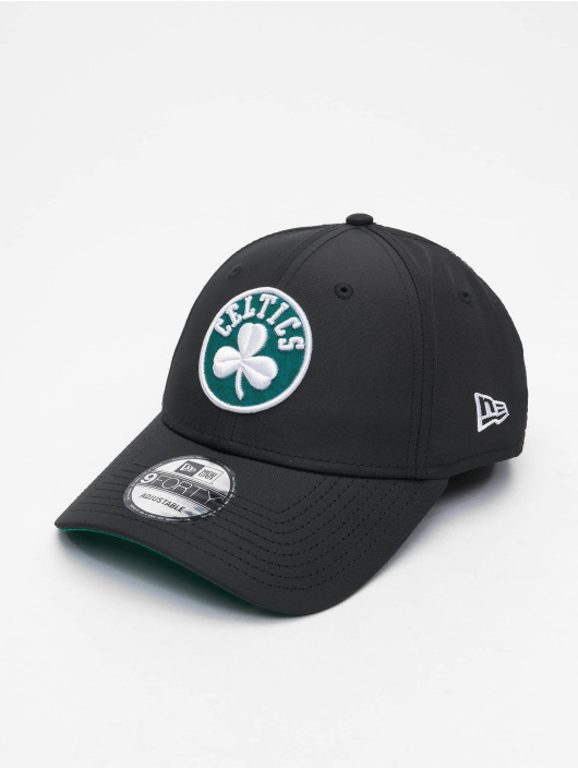 New Era Snapback Cap 9Forty Hook Boston Celtics schwarz
