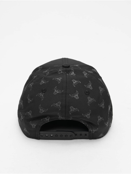 New Era Snapback Cap NBA Nylon 9forty schwarz