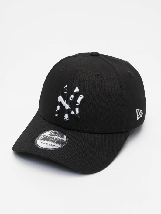 New Era Snapback Cap Infill New York Yankees 9Forty schwarz