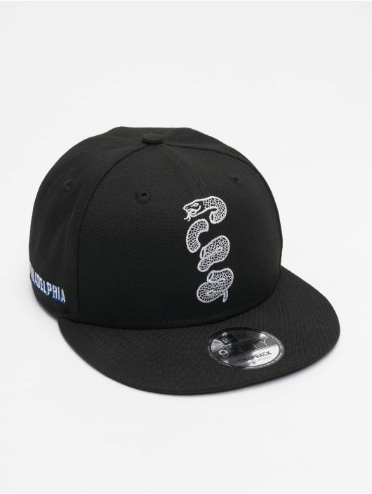 New Era Snapback Cap NBA20 Philadelphia 76ers City Alt EM 9Fifty schwarz