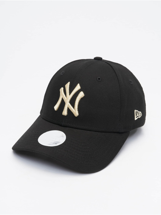 New Era Snapback Cap MLB NY Yankees Womens League Essential schwarz