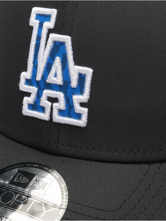 New Era Snapback Cap MLB LA Dodgers Hook schwarz