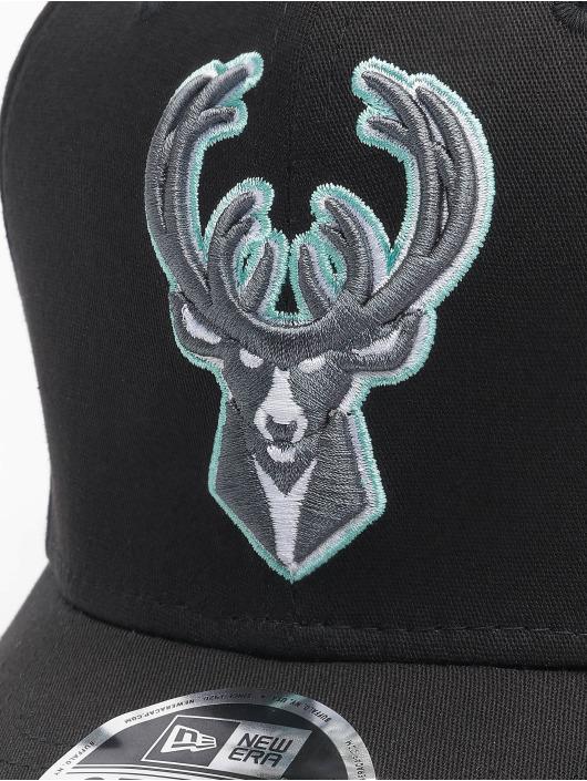 New Era Snapback Cap Nba Properties Milwaukee Bucks Neon Pop Outline 9fifty schwarz