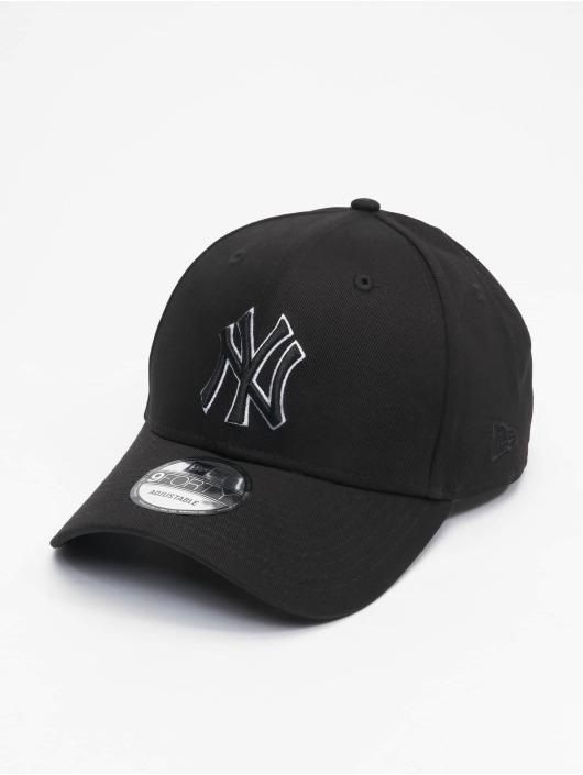 New Era Snapback Cap Mlb Properties New York Yankees schwarz