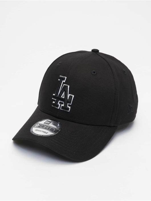 New Era Snapback Cap Mlb Properties Los Angeles Dodgers Black Base 9forty schwarz