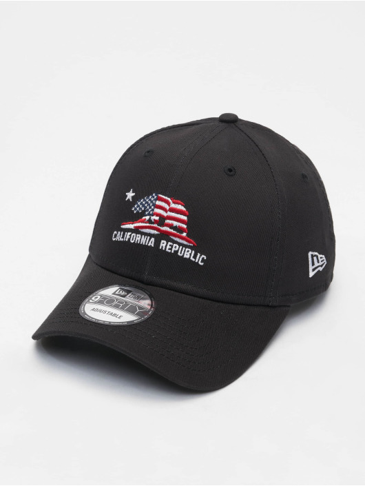 New Era Snapback Cap Cali 9Forty schwarz