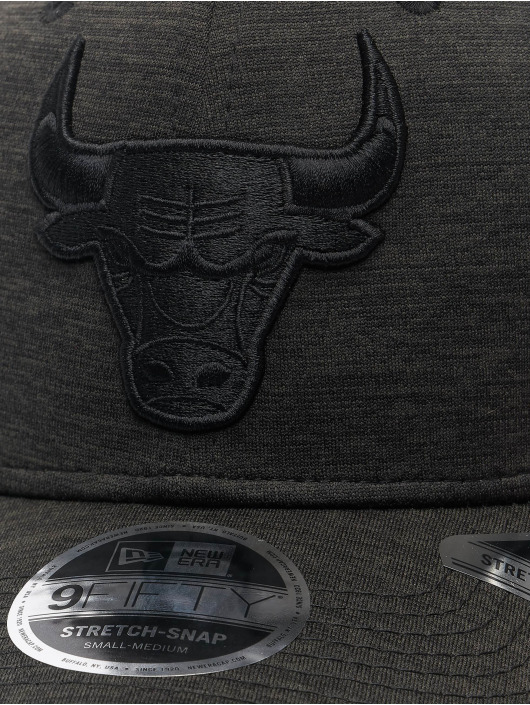 New Era Snapback Cap NBA Chicago Bulls Tonal Team 9Fifty Stretch schwarz