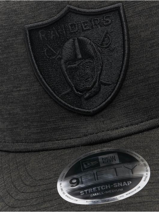 New Era Snapback Cap NFL Las Vegas Raiders Tonal Team 9Fifty Stretch schwarz