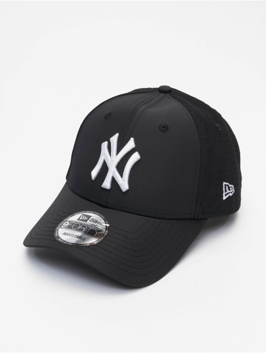 New Era Snapback Cap MLB New York Yankees Mesh Underlay 9Forty S schwarz