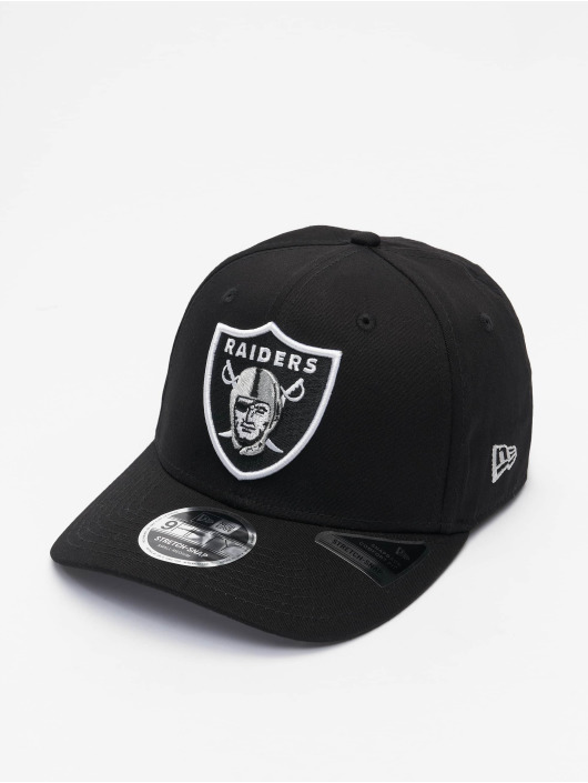New Era Snapback Cap NFL Las Vegas Raiders Team Colour 9Fifty Stretch Snap schwarz