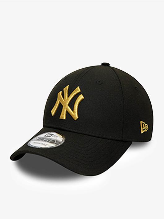 New Era Snapback Cap MLB New York Yankees Team Contrast 9Forty schwarz