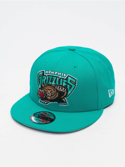 New Era Snapback Cap NBA 950 Memphis Grizzlies Hardwood Classics Nights turchese