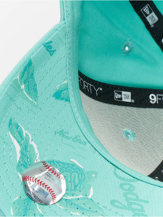 New Era Snapback Cap MLB Los Angeles Dodgers Light Weight turquoise