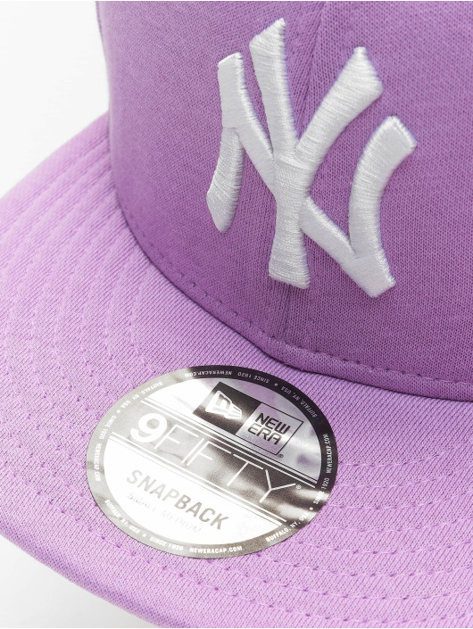 New Era Snapback Cap MLB NY Yankees Jersey Pack 9Fifty violet