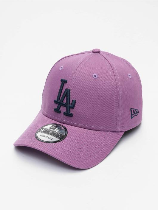 New Era Snapback Cap MLB Los Angeles Dodgers League Essential 9Forty violet