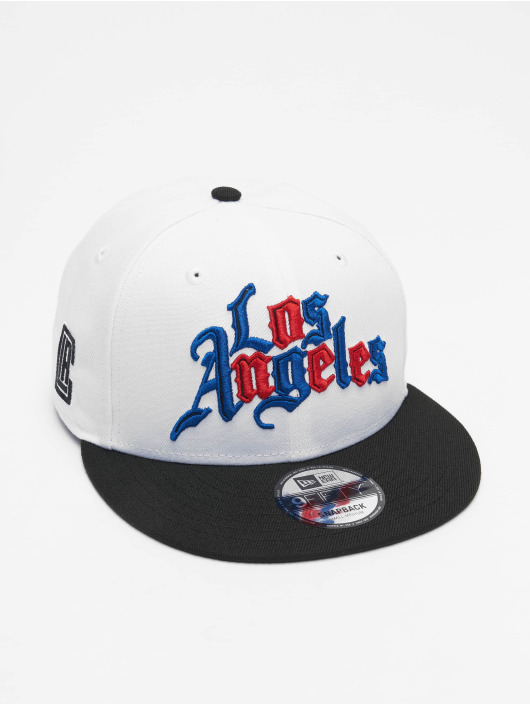 New Era Snapback Cap NBA20 Los Angeles Clippers City Alt EM 9Fifty weiß