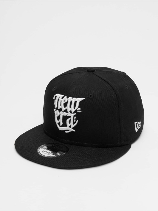 New Era Snapback Cap Script 9fifty white