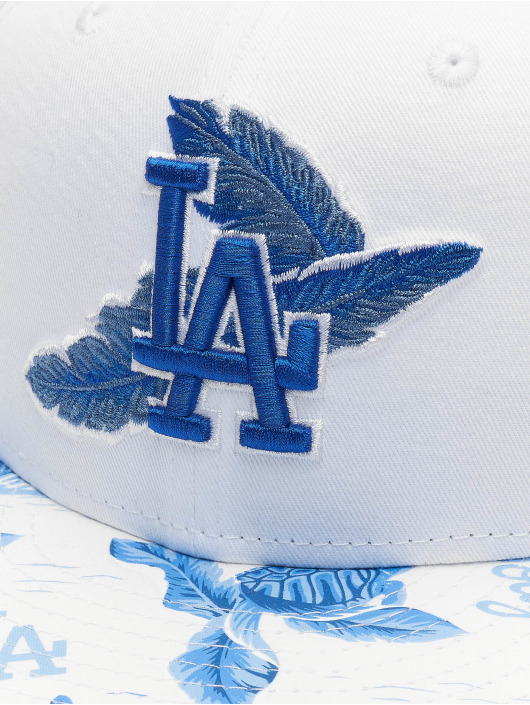 New Era Snapback Cap MLB Los Angeles Dodgers Desert Island 9fifty white