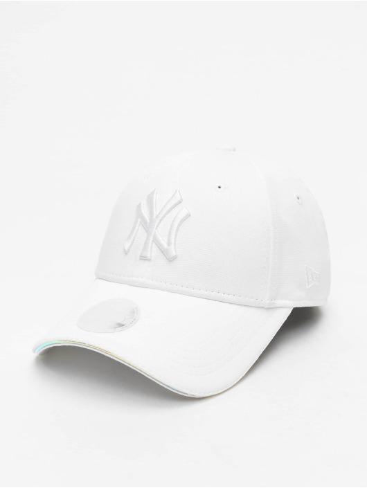 New Era Snapback Cap MLB NY Yankees Iridescent 9Forty white